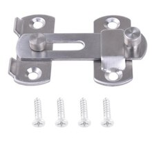 Door Hasp Latch Stainless Steel Hasp Latch Lock Sliding Door lock for Window Cabinet Fitting Room Accessorries Home Hardware