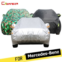 Cawanerl Car Cover SUV Sun Rain Snow Protector Cover For Mercedes Benz GLA200 GLA220 GLA260 GLE300 GLE320 GLE350 GLE400 GLE450