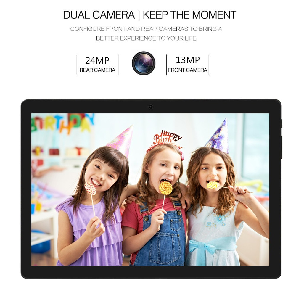 Android 10.0 Tablet 10.1 Inch 1920x1200 IPS Tablete 6GB RAM 128GB ROM Tablets MTK6797 Octa Core Dual 4G LTE Tablettes Sales enlarge