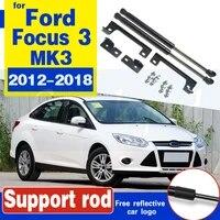 2pcs car engine hood lift support gas spring shock strut damper fit for ford focus 3 mk3 2012 2018 hood struts support rod