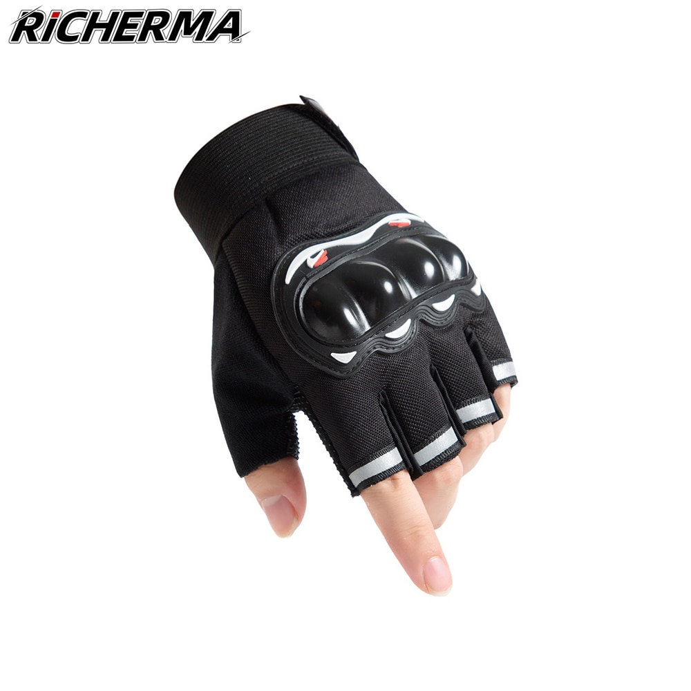 top good motorcycles military enthusiasts summer wear breathable mesh fabric hard protective overalls motorcycle clothing 507g Fingerless Motorcycle Gloves Hard Knuckle Women Men Mesh Protective Tactical Military Moto Riding Racing Motorbike Car Working