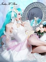 pre sale2020 miku fingure miku cosplay costume 2020 summer miku swimsuit swimwear cosplay costume