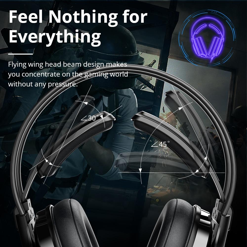 Original Tronsmart Glary Alpha Gaming Headphones ps4 Headsets Gamer, 3.5mm+ USB Port for ps4, witch, Computer, Laptop enlarge