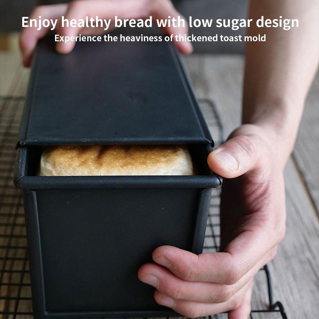 الخبز الخبز العفن نخب الخبز غير عصا معدنية الخبز العفن مربع مع غطاء و الهواء الإفراج ثقوب