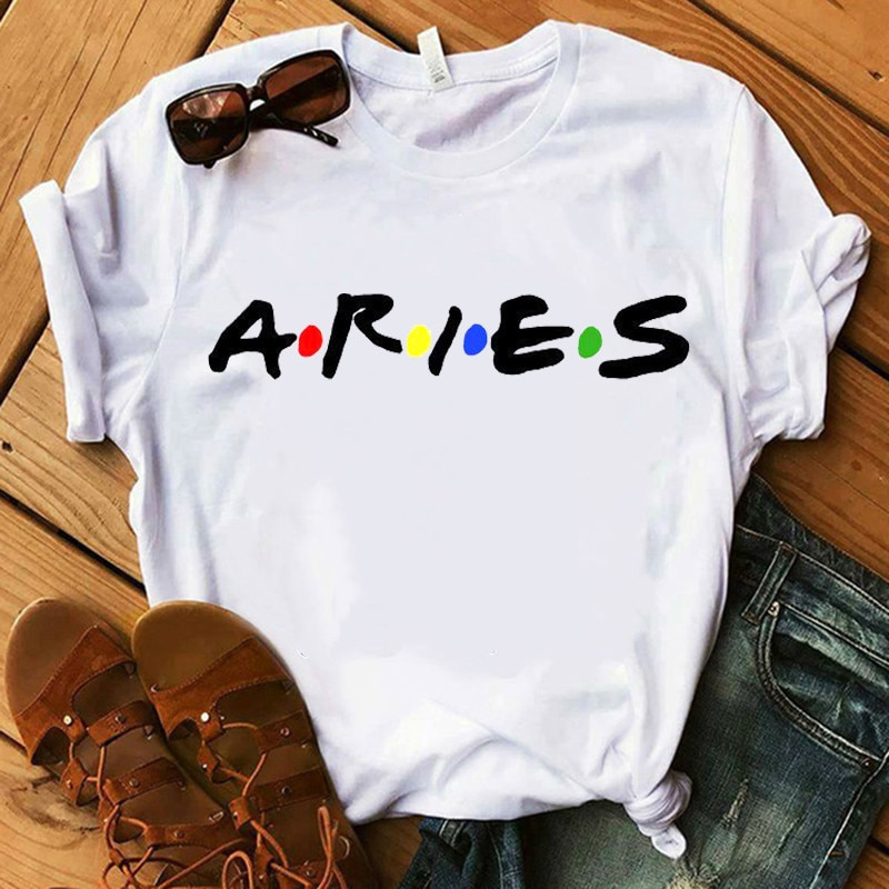 aliexpress.com - Twelve constellations zodiac sign Tshirt Women Short Sleeve o-neck t shirt soft Breathable casual tshirt,Drop Ship