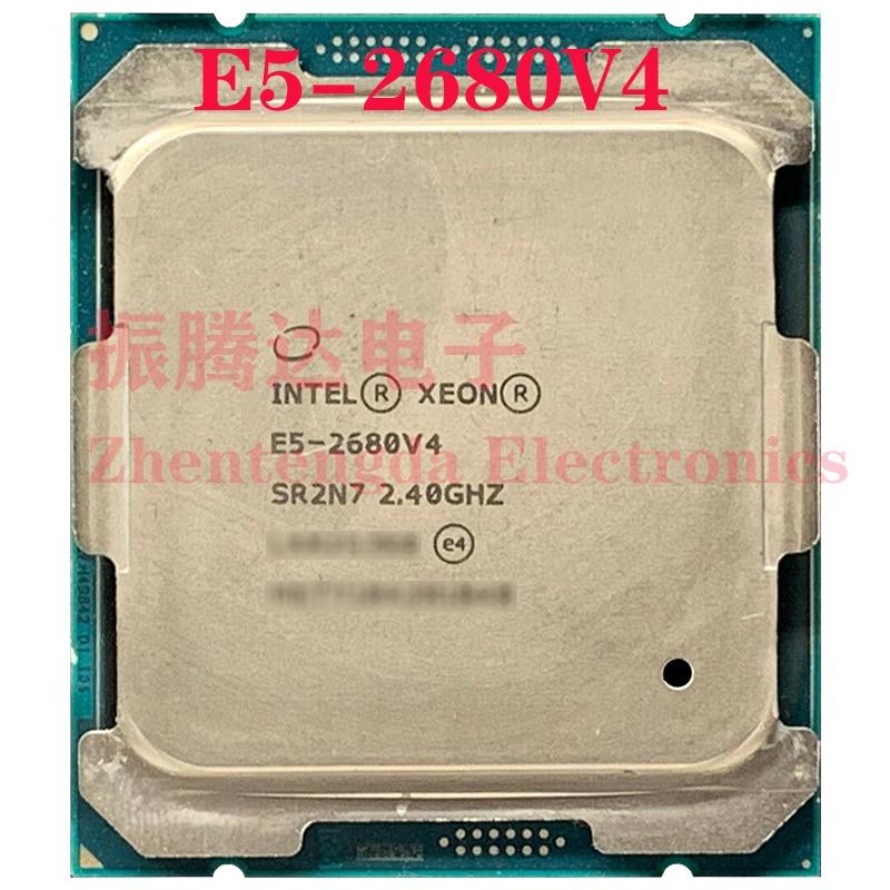 Intel Xeon E5-2680 v4 Processor 2.4GHz 35MB 14 Core 28 Threads LGA 2011-v3 E5-2680V4 CPU Processor