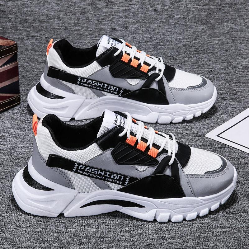 Мужская обувь Новинка Весна 2021 Спортивная обувь Мужская дышащая удобная повседневная обувь для бега Мужская старая обувь мужская обувь