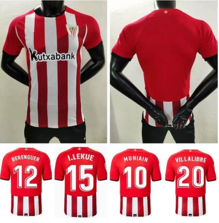 Camiseta atlética del club bilbao 2021, Camiseta de MUNIAIN WILLIAMS, versión 2021