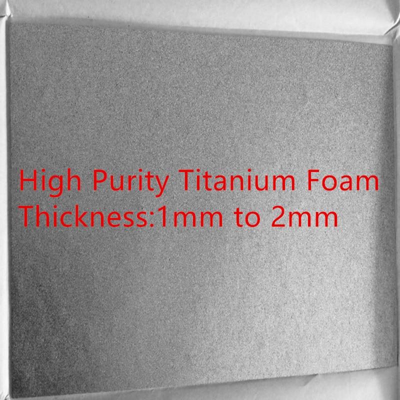 عالية النقاء مسامية مسحوق رغوة التيتانيوم الملبدة التيتانيوم المياه الكهربائي التيتانيوم القطب المواد الخاصة للتجارب