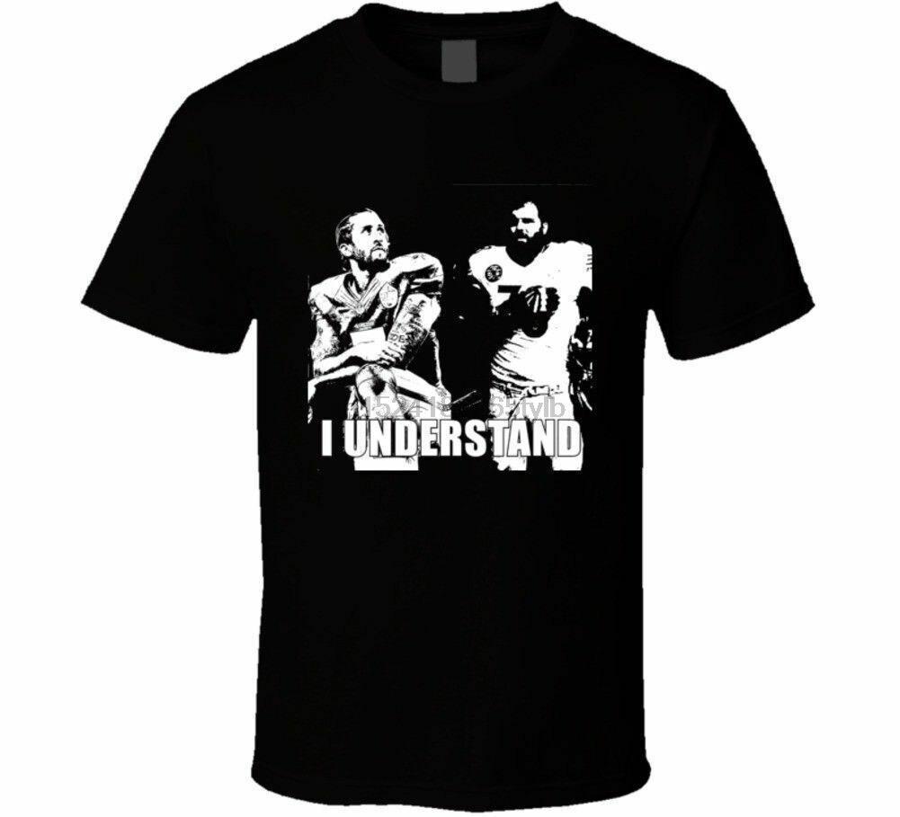 Camiseta con el lema de protesta de Collin Kaepernick