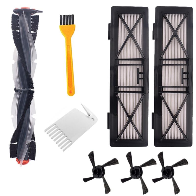 Combo de escobillas, cepillo y cerdas, cepillo, batidor para Neato, Botvac, D3, D4, D5, D6, D7, serie D conectada, limpiadores, Kit de piezas