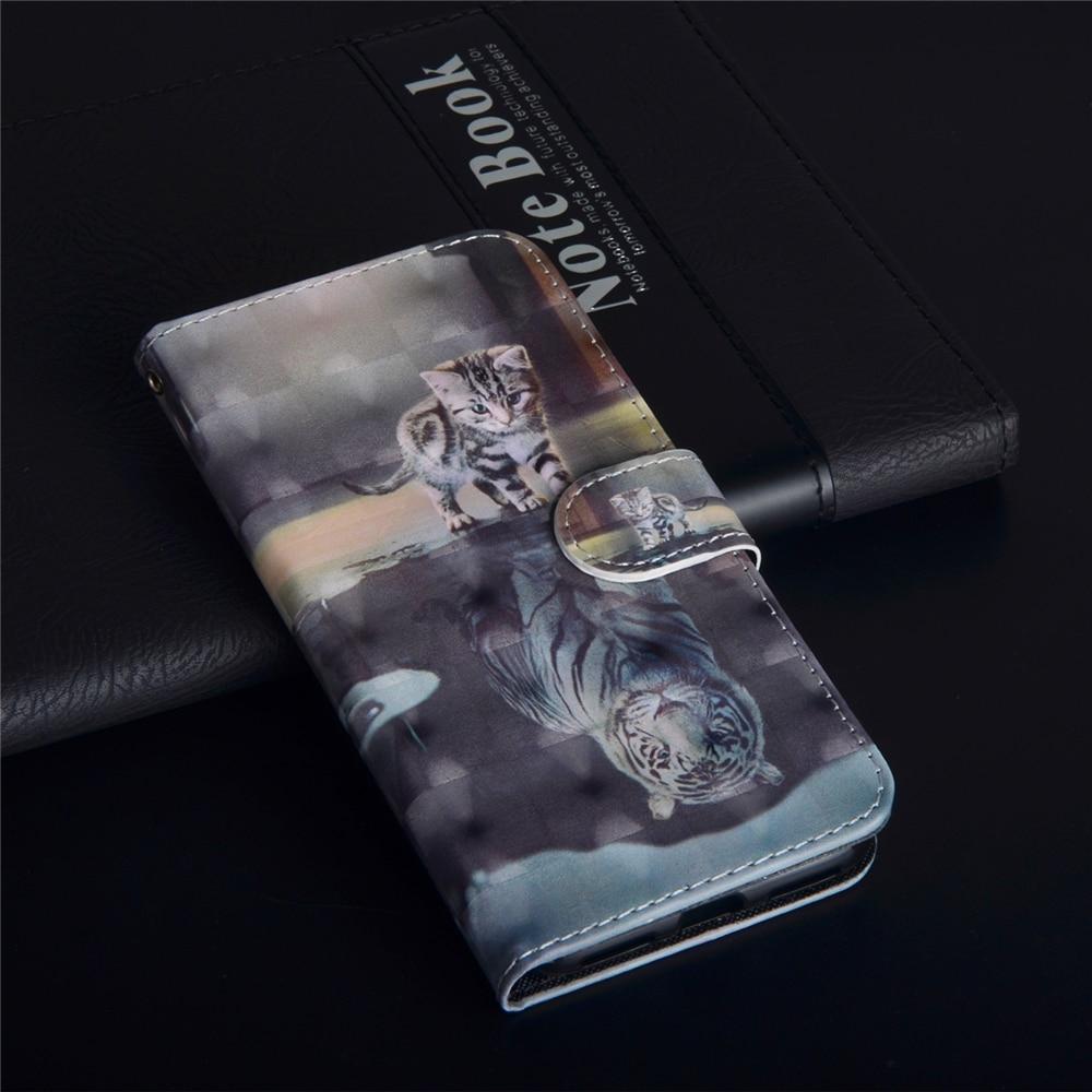 Funda de cuero con tapa para Motorola G8 E6 Plus ONE Macro, funda para Moto E6 G8 Play One Zoom, funda para teléfono con cartera 3D