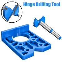 new abs concealed hinge hole jig for kitchen cabinet doors with drill bit tool carpenter woodworking diy tools