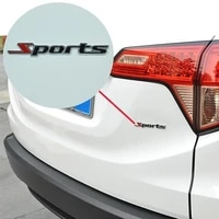 fashion 3d metal sport logo car truck decor pattern badge universal sticker
