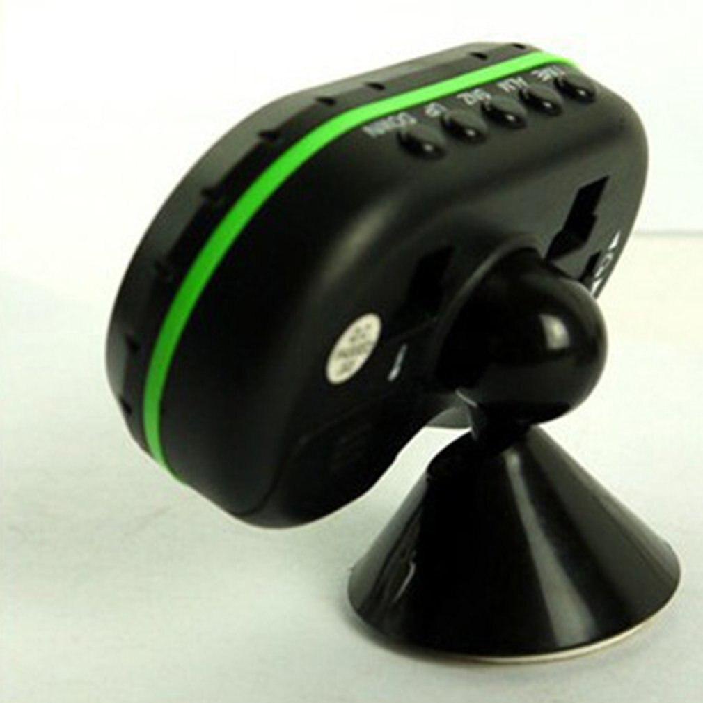 Автомобильный интерьер ЖК цифровой календарь будильник термометр измеритель напряжения вольт Функция повтора автомобильный аксессуар
