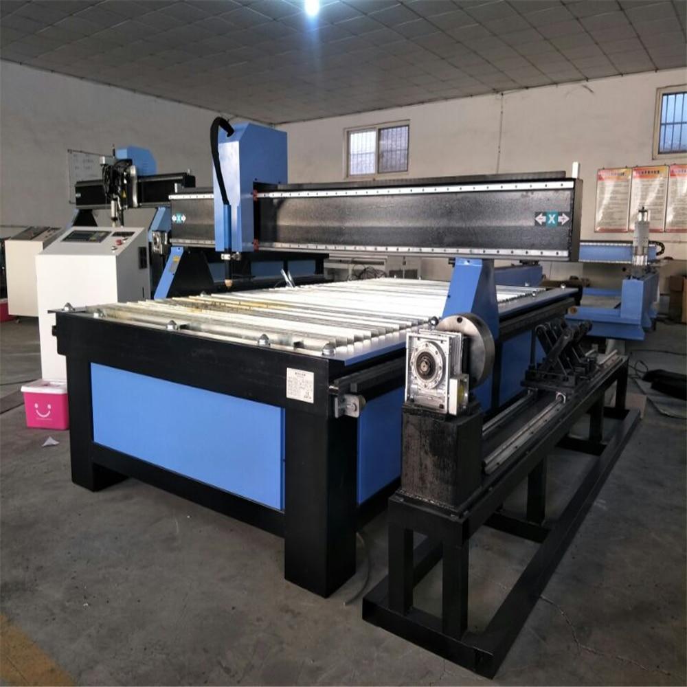 Máquina de corte por plasma cnc de Metal 1325/cortadora de Plasma Cnc de mesa para la venta/cortadora de llama de Metal de Plasma para tubería