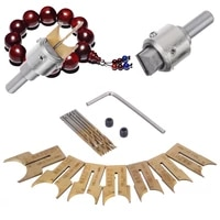 16pcsset wooden beads drills router beads milling cutter drill 14 25mm qualtiy carbide ball blade for woodworking processing