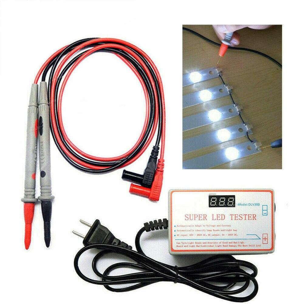 Medidor de DLV-300, probador LED de salida, herramienta de ordenador, TV, multiusos, cuentas de retroiluminación, medición de portátil para la reparación de tiras
