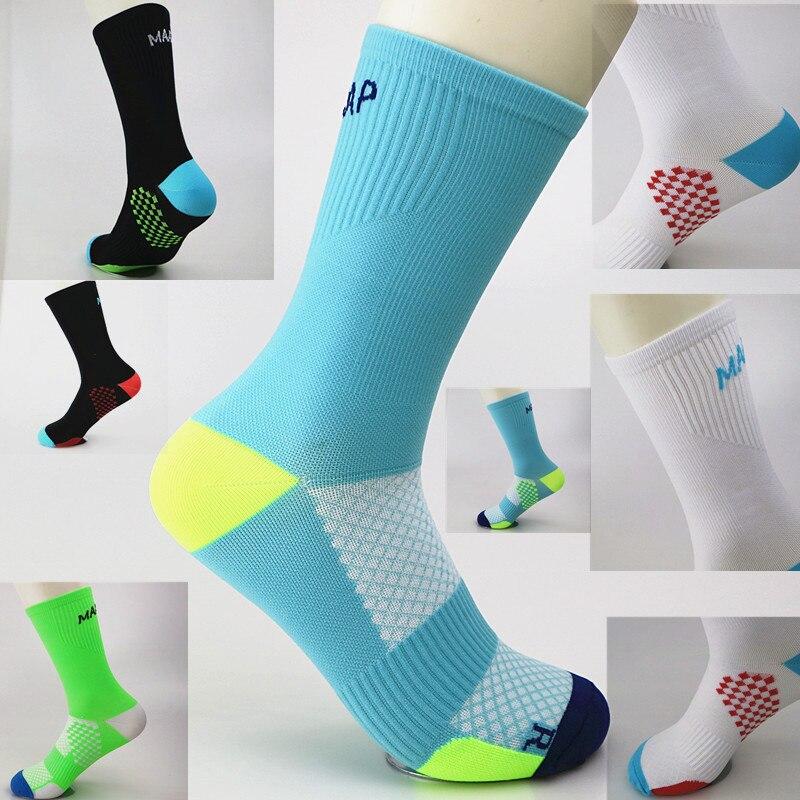 Men Women Road Cycling Sports Socks Riding Breathable Socks Basketball Climbing Golf Baseball Socks