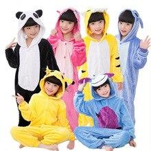 Point tigre Carton Animal Pikachu Onesies pyjama vache Kigurumi déguisement enfant Panda Onesies Pijamas zèbre Cosplay chien Anmie ours