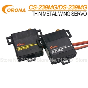Corona CS239MG/ DS239MG Slim-Wing Analog/ Digital Servo for RC Glider