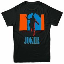 The Jocker Joaquin Pheonix Dark Halloween Retro, T-Shirt Adult Mens Top Classic custom design Tee Shirt