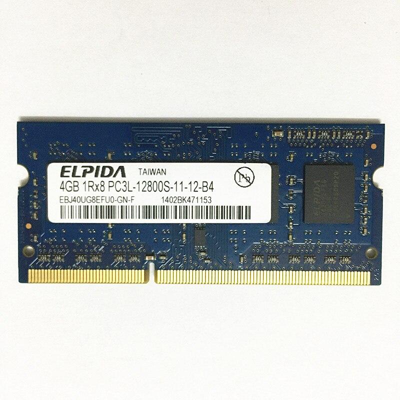 البيدا DDR3 الكباش 4gb 1600MHz DDR3 4GB 1Rx8 PC3L-12800S-11 ddr3 محمول ذاكرة 4GB 1600 ram