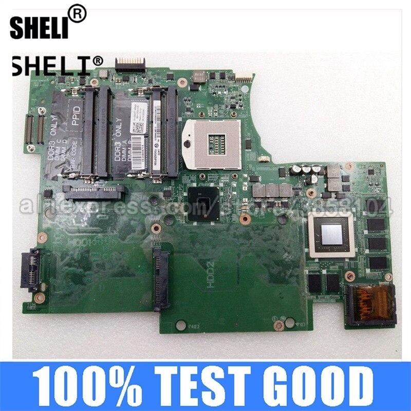 SHELI لديل 17 L701X اللوحة HM57 3G DAGM7BMBAF0 53JR7 053JR7 CN-053JR7 DDR3 انسبايرون إنتل المتكاملة