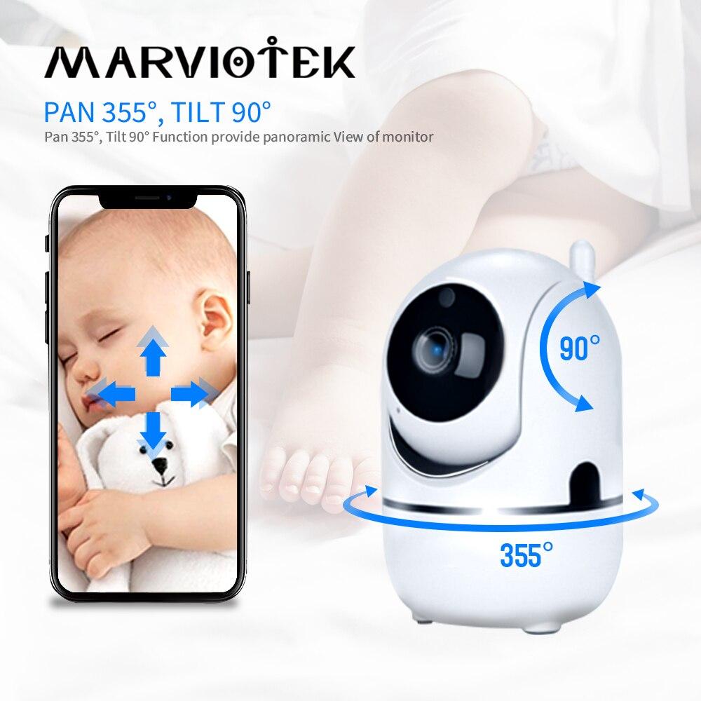 Monitor de bebé con cámara, cámara de teléfono de bebé, detección de movimiento, alarma de llanto, vídeo de audio bidireccional, cámara de seguridad doméstica para bebé