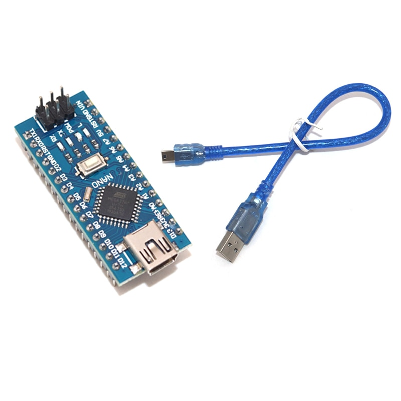 Nano 3.0 controller for arduino CH340 USB driver 16Mhz Nano v3.0 ATMEGA328P Nano With the bootloader compatible