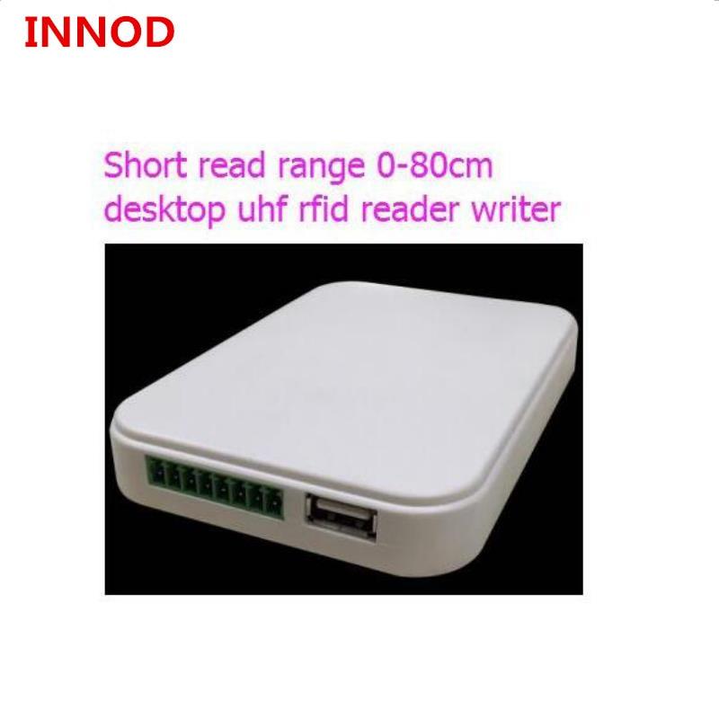 Baixo preço 840-960mhz RFID Porta USB Smart Card Reader & Escritor smartcard com 5pcs rfid uhf cartão de Controle de acesso ISO 18000-6c