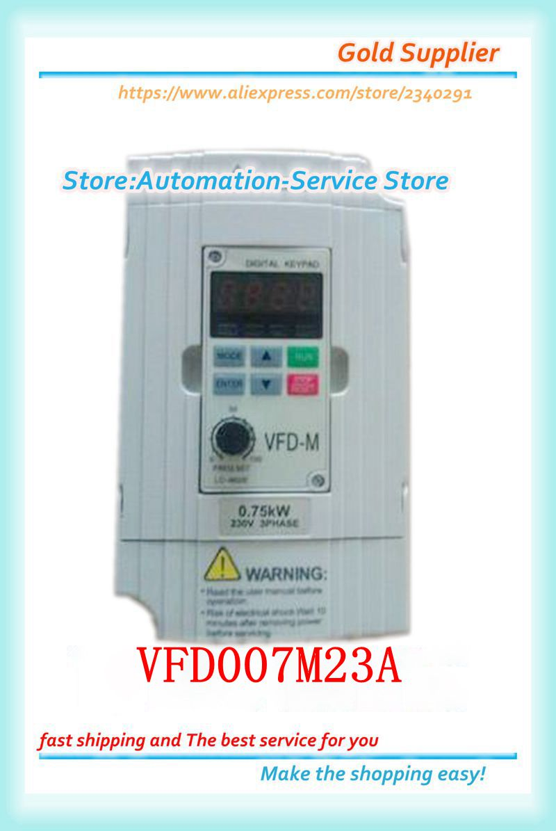 دلتا انفرتر جديد VFD007M23A سبوت