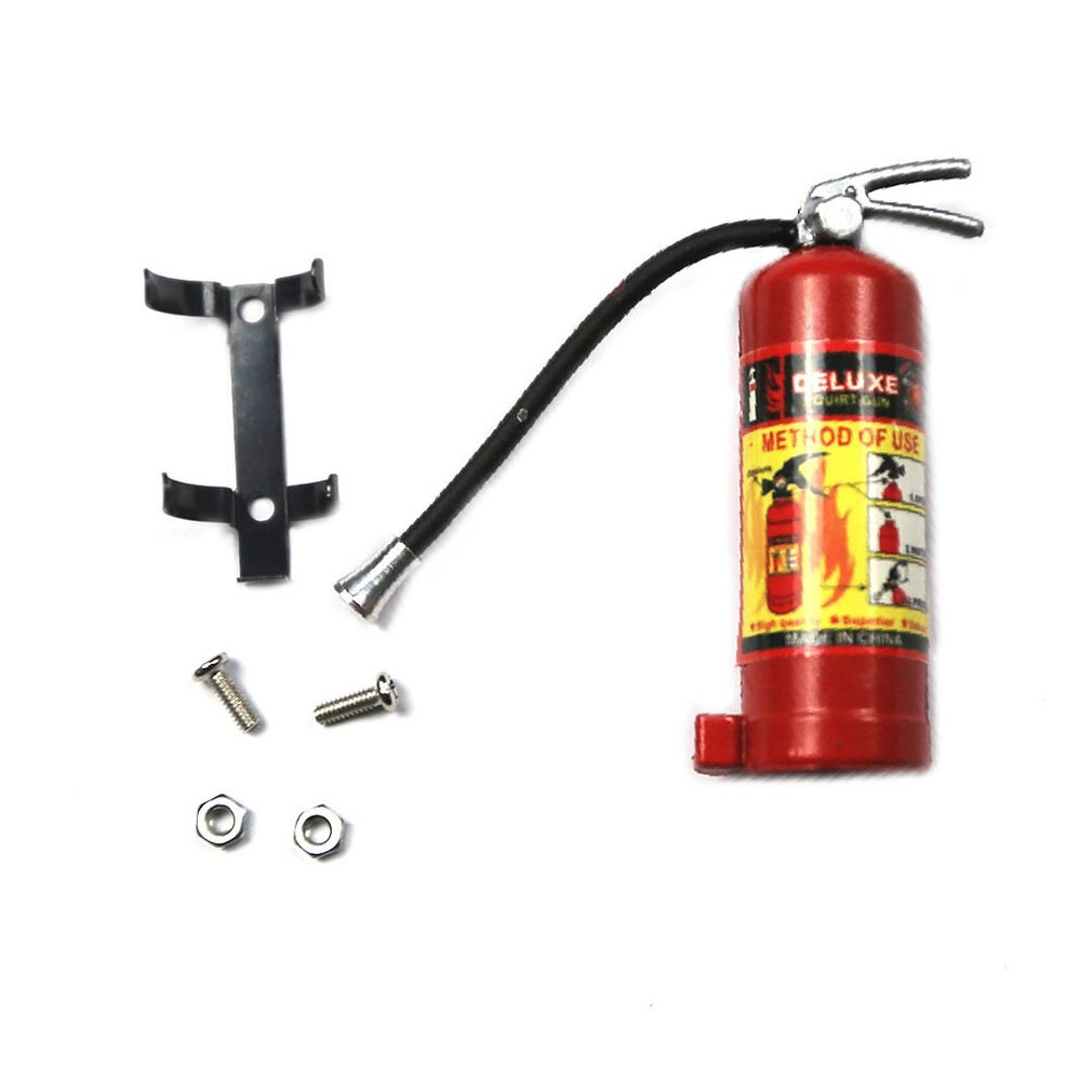1/10 RC Crawler Accessory Parts Fire Extinguisher Model For Axial SCX10 TRX4 Extinguisher For kids C