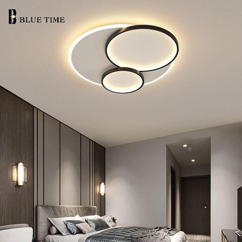 دائرة مستديرة سقف ليد حديث مصباح لغرفة المعيشة غرفة الطعام غرفة نوم المطبخ قابل للتعديل المنزل ضوء السقف تركيبات الاكريليك