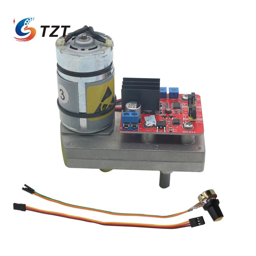 Engrenagem de Aço Alta do Servo Educacional do Braço Mecânico do Robô 380kg.cm do Torque de Tzt para a Plataforma Dc12v 24v