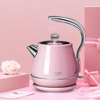 automatic retro kettle portable small electric boiler kettle travel stainless steel hervidor de agua kitchen utensils eb50wk