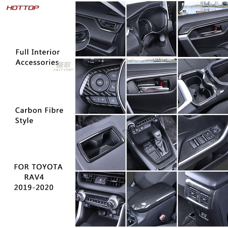 Accesorios Para el Interior Del Coche, Accesorios de Decoración Para Toyota RAV4...