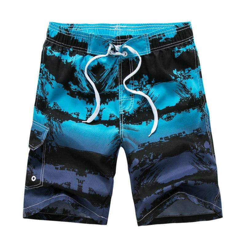 Шорты мужские быстросохнущие, повседневные бермуды с принтом, пляжные бермуды, летние бриджи, 21 цвет