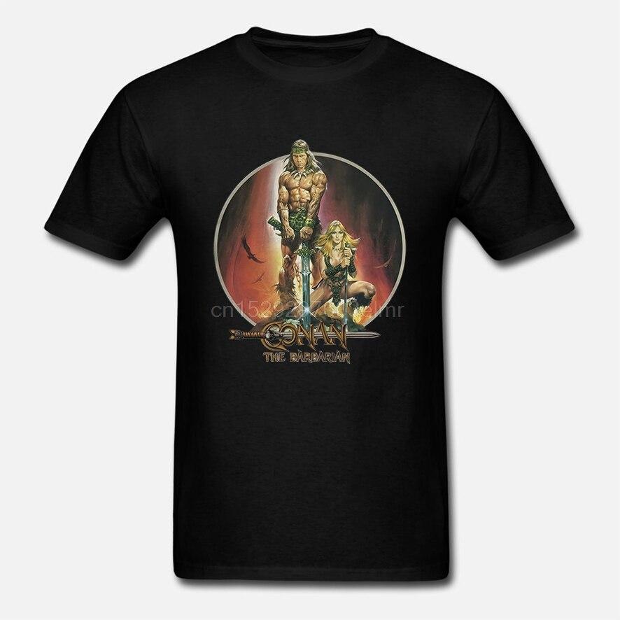 Camiseta para camiseta masculina conan the barbarian (1)