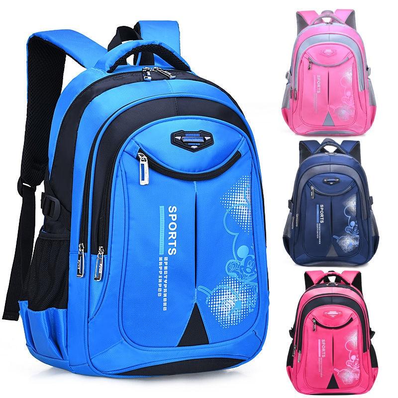 Детский ортопедический рюкзак для начальной школы для мальчиков и девочек, нейлоновый водонепроницаемый рюкзак для учебников, 2021