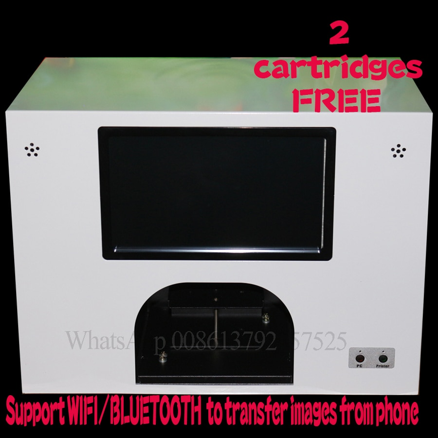 3 years warranty free shipping nail printer with touch screen 5 hand nails printing at same time