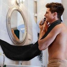 New Male Beard Shaving Apron Care Clean Hair Adult Bibs Shaver Holder Bathroom Organizer Gift for Ma