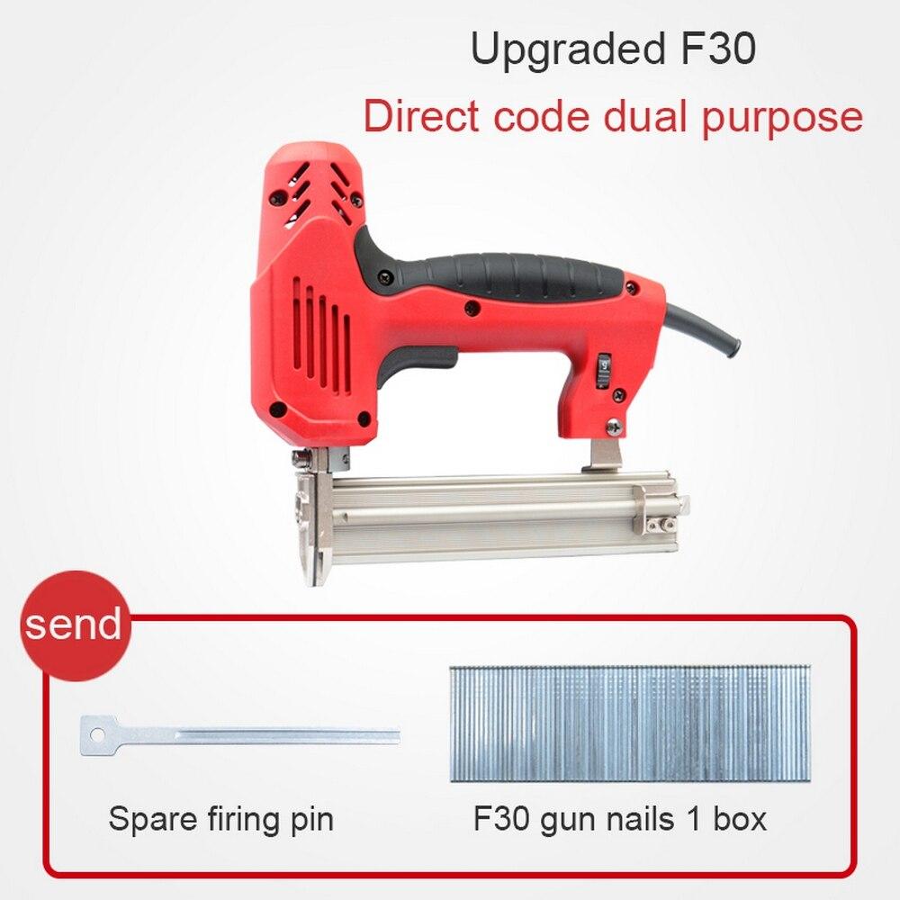 مسدس أظافر كهربائي 2000 وات 2 في 1 ، أداة يدوية لأعمال النجارة ، لوح حائط ورقي ، لوحة أظافر