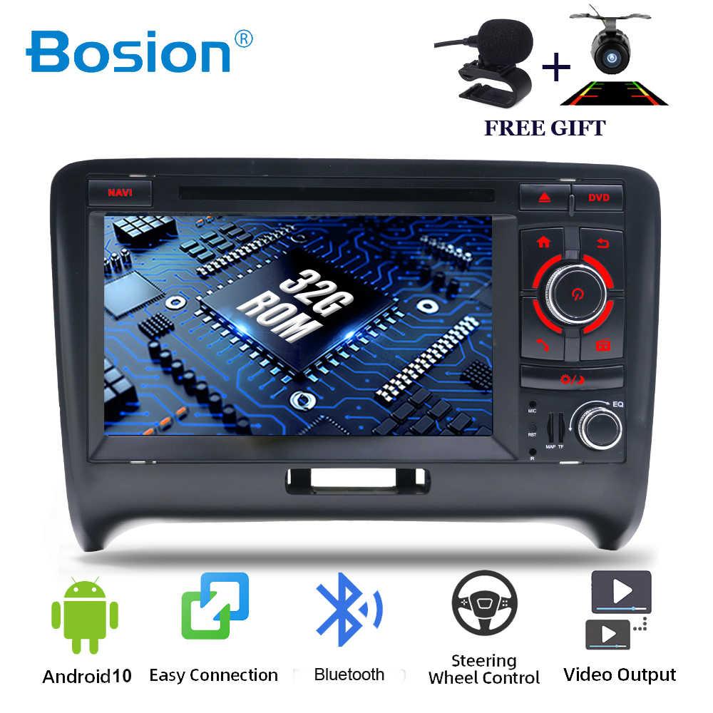 Bosion 4 Core Android 10 0 2 Din Car Dvd Gps For Audi Tt Mk2 8j 2006 2007 2008 2009 2010 2011 2012 Multimedia Player Radio Wifi Car Multimedia Player Aliexpress