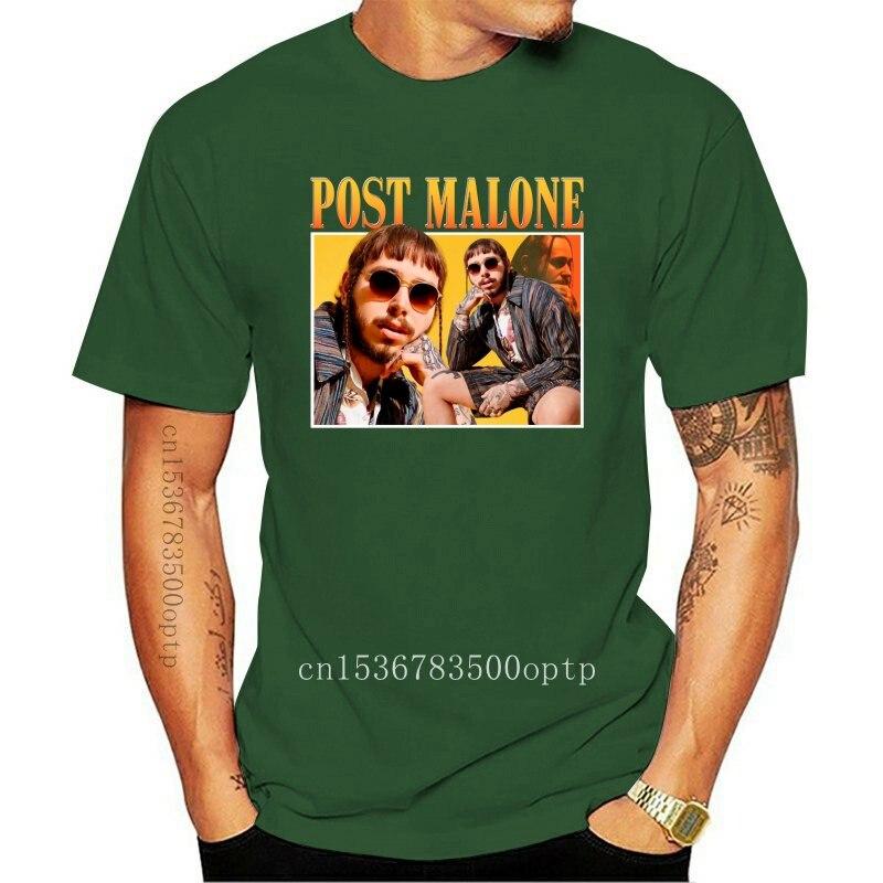 New Post_Malone_Time_Warp Black T-Shirt Cotton Men S-3Xl Custom Screen Printed Tee Shirt