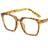 fashion anti blue glasses women men optical eyewear unisex super light spectacles simplicity square eyeglasses