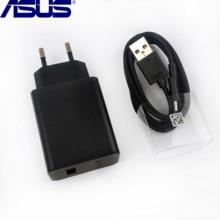 Зарядное устройство Asus Zenfone 6, 18 Вт, ЕС, быстрая стена, usb кабель Type-C, 9 В, 2A, зарядный адаптер питания 010-1LF Для Zenfone 5Z 5 3 Mi A3 A2 A1 Redmi