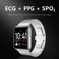 v5 pro smart watch man ecg fitness bracelet health electronic blood pressure watch heart rate monitor fitness tracker smartwatch