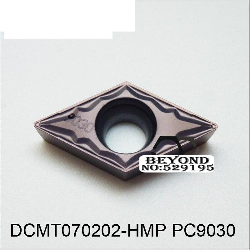 الأصلي DCMT070202-HMP PC9030 كربيد تحول إدراج DCMT070202 DCMT 070202 ل آلة خرط الفولاذ القاطع إسنتوس دي كاربورو