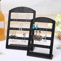 50 hot sales 2448 holes earrings display stand holder jewelry show rack acrylic organizer